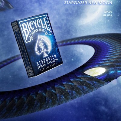 Bicycle Stargazer New Moon Playing Cards - 52 Wonders Playing Cards Spielkarten Bicycle Fontaine Anyone Orbit Butterfly