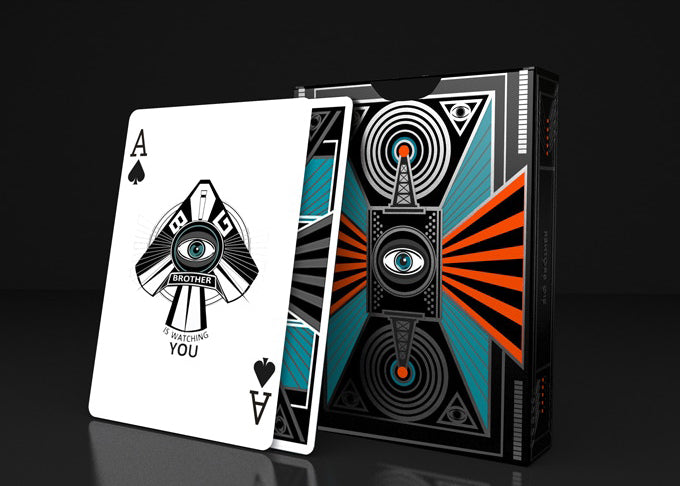 Big Brother Playing Cards - 52 Wonders Playing Cards Spielkarten Bicycle Fontaine Anyone Orbit Butterfly