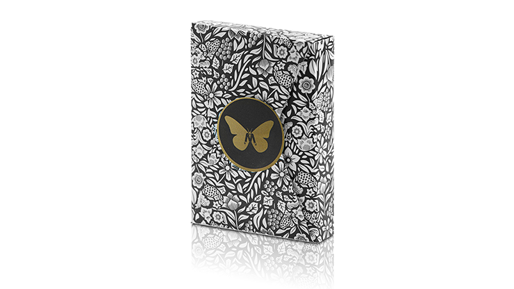 Black Butterfly Playing Cards - 52 Wonders Playing Cards Spielkarten Bicycle Fontaine Anyone Orbit Butterfly
