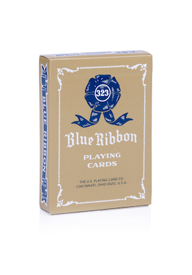 Blue Ribbon Playing Cards - Red - 52 Wonders Playing Cards Spielkarten Bicycle Fontaine Anyone Orbit Butterfly