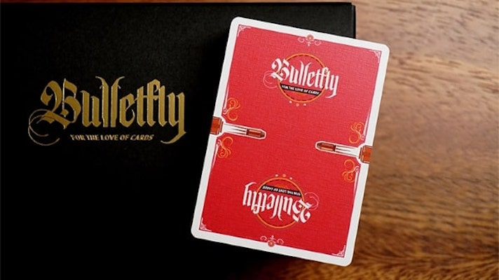 Bulletfly Playing Cards - Vino - 52 Wonders Playing Cards Spielkarten Bicycle Fontaine Anyone Orbit Butterfly