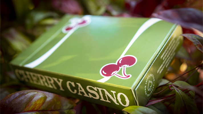 Cherry Casino Playing Cards - Sahara Green - 52 Wonders Playing Cards Spielkarten Bicycle Fontaine Anyone Orbit Butterfly