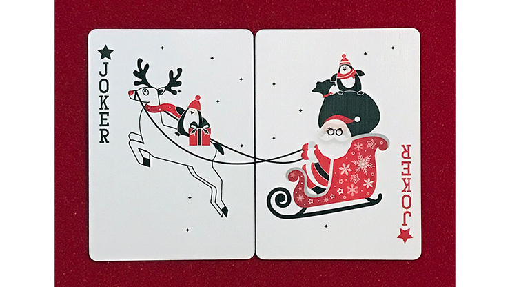 Christmas Playing Cards (Natalia Silva) - 52 Wonders Playing Cards Spielkarten Bicycle Fontaine Anyone Orbit Butterfly