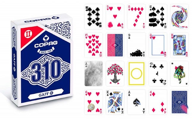 Copag 310 Playing Cards - Gaff Deck 2 - 52 Wonders Playing Cards Spielkarten Bicycle Fontaine Anyone Orbit Butterfly