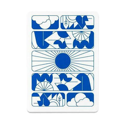 Entry Playing Cards - Suns - 52 Wonders Playing Cards Spielkarten Bicycle Fontaine Anyone Orbit Butterfly