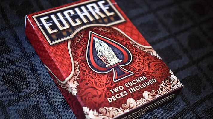 Euchre Playing Cards - V2 - 52 Wonders Playing Cards Spielkarten Bicycle Fontaine Anyone Orbit Butterfly