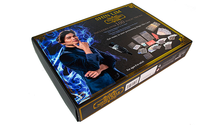 Evolushin Magic Set by Shin Lim - 52 Wonders Playing Cards Spielkarten Bicycle Fontaine Anyone Orbit Butterfly