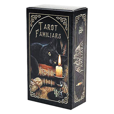 Familiars Tarot Cards by Lisa Parker - 52 Wonders Playing Cards Spielkarten Bicycle Fontaine Anyone Orbit Butterfly