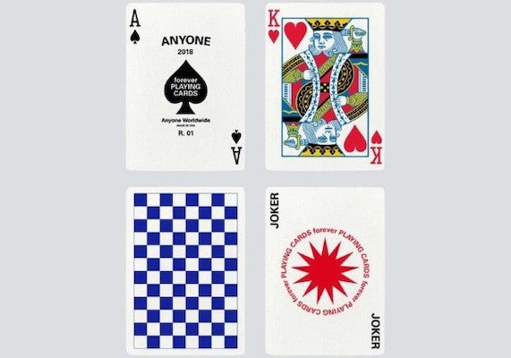 Forever Checkerboard Playing Cards - 52 Wonders Playing Cards Spielkarten Bicycle Fontaine Anyone Orbit Butterfly