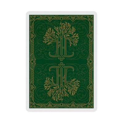Green Philtre Playing Cards - 52 Wonders Playing Cards Spielkarten Bicycle Fontaine Anyone Orbit Butterfly