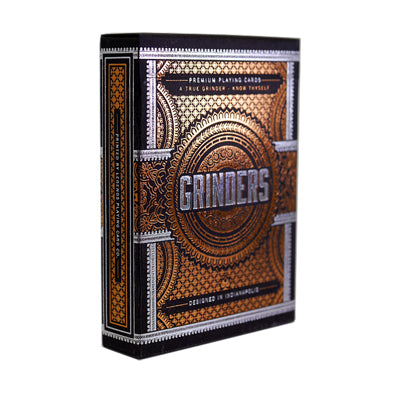 Grinders Playing Cards - Cooper - 52 Wonders Playing Cards Spielkarten Bicycle Fontaine Anyone Orbit Butterfly