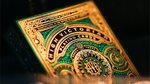 High Victorian Playing Cards - Green