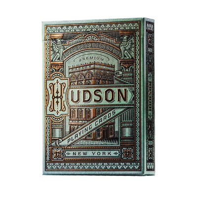 Hudson Playing Cards - Green - 52 Wonders Playing Cards Spielkarten Bicycle Fontaine Anyone Orbit Butterfly