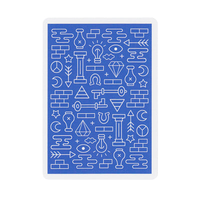 Icon Playing Cards - Blue