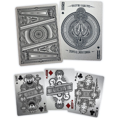 Invocation Playing Cards - Standard Set - 52 Wonders Playing Cards Spielkarten Bicycle Fontaine Anyone Orbit Butterfly