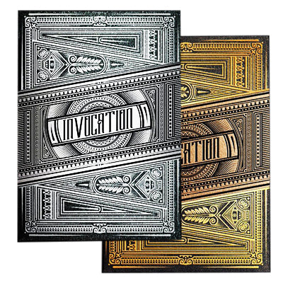 Invocation Playing Cards - Gilded Set - 52 Wonders Playing Cards Spielkarten Bicycle Fontaine Anyone Orbit Butterfly