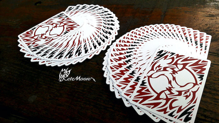 Kete Moon SE Playing Cards - 52 Wonders Playing Cards Spielkarten Bicycle Fontaine Anyone Orbit Butterfly