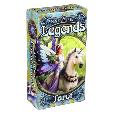Legends Tarot Cards by Anne Stokes - 52 Wonders Playing Cards Spielkarten Bicycle Fontaine Anyone Orbit Butterfly