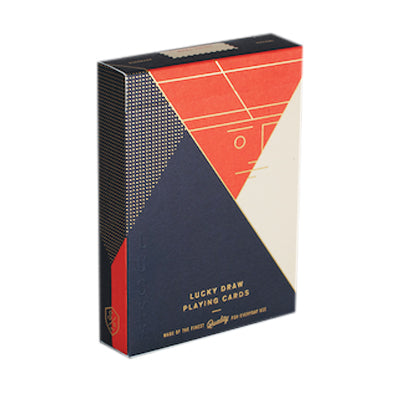 Lucky Draw Playing Cards - Orange