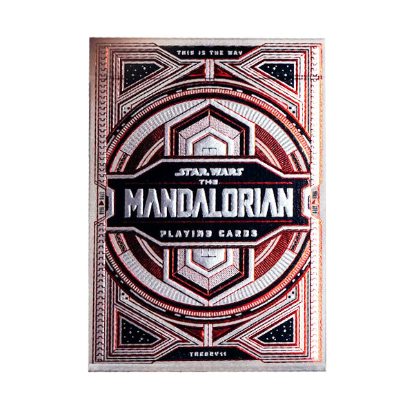 Mandalorian Playing Cards - 52 Wonders Playing Cards Spielkarten Bicycle Fontaine Anyone Orbit Butterfly