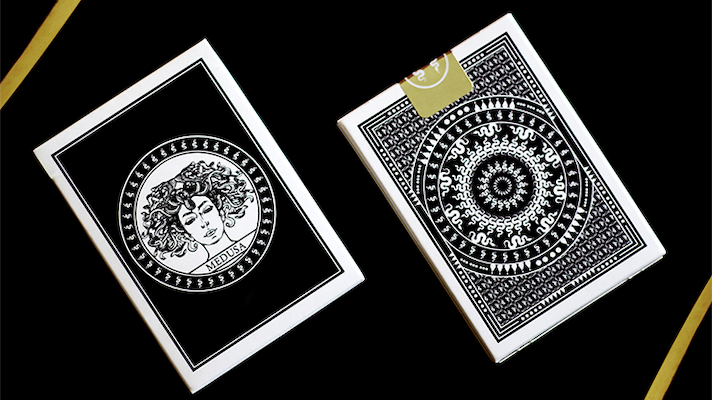 Medusa Playing Cards - 52 Wonders Playing Cards Spielkarten Bicycle Fontaine Anyone Orbit Butterfly