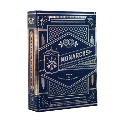 Monarch Playing Cards - Original - 52 Wonders Playing Cards Spielkarten Bicycle Fontaine Anyone Orbit Butterfly