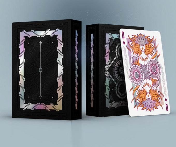 Monolith Playing Cards - Limited Edition - Black - 52 Wonders Playing Cards Spielkarten Bicycle Fontaine Anyone Orbit Butterfly