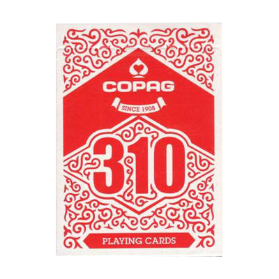 Copag 310 Playing Cards - Slim line Red