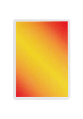 NOC Colorgrades Playing Cards - Dessert Orange - 52 Wonders Playing Cards Spielkarten Bicycle Fontaine Anyone Orbit Butterfly