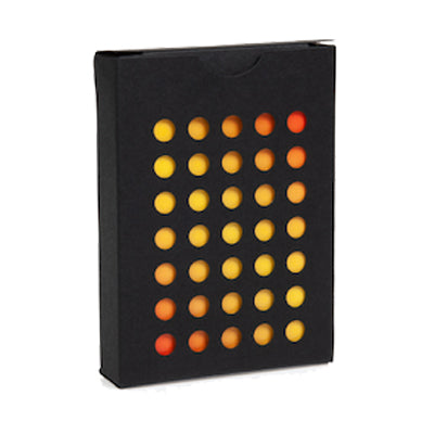 NOC Colorgrades Playing Cards - Dessert Orange