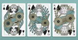 Odissea Playing Cards - Neptune