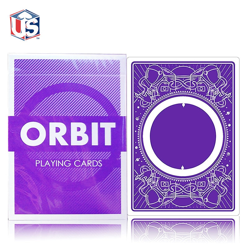 Orbit V3 Playing Cards - 52 Wonders Playing Cards Spielkarten Bicycle Fontaine Anyone Orbit Butterfly