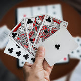 Hidden Leaves Playing Cards