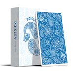 Paisley Playing Cards - Blue