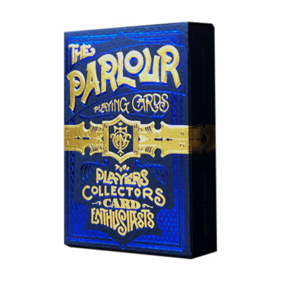 Parlour Playing Cards - Blue - 52 Wonders Playing Cards Spielkarten Bicycle Fontaine Anyone Orbit Butterfly