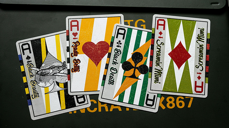 Peter Dash Flash Playing Cards - 52 Wonders Playing Cards Spielkarten Bicycle Fontaine Anyone Orbit Butterfly