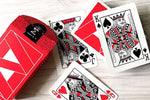 Mako Playing Cards - Red