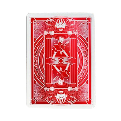 Pinocchio Playing Cards - Vermilion - 52 Wonders Playing Cards Spielkarten Bicycle Fontaine Anyone Orbit Butterfly