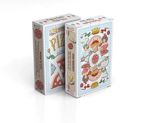 Pizza Playing Cards - 52 Wonders Playing Cards Spielkarten Bicycle Fontaine Anyone Orbit Butterfly