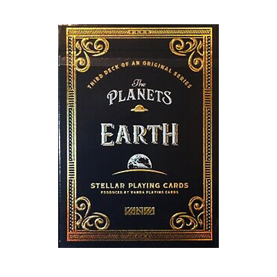 Planet Earth Playing Cards - Numbered Seal