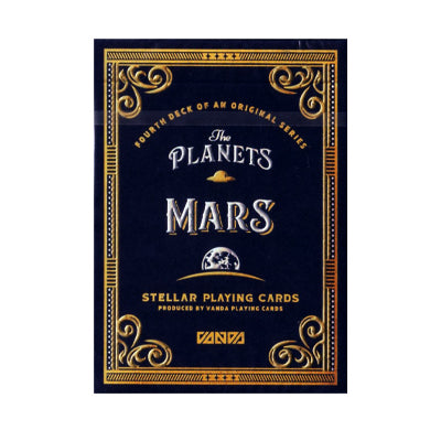 Planet Mars Playing Cards - Numbered Seal