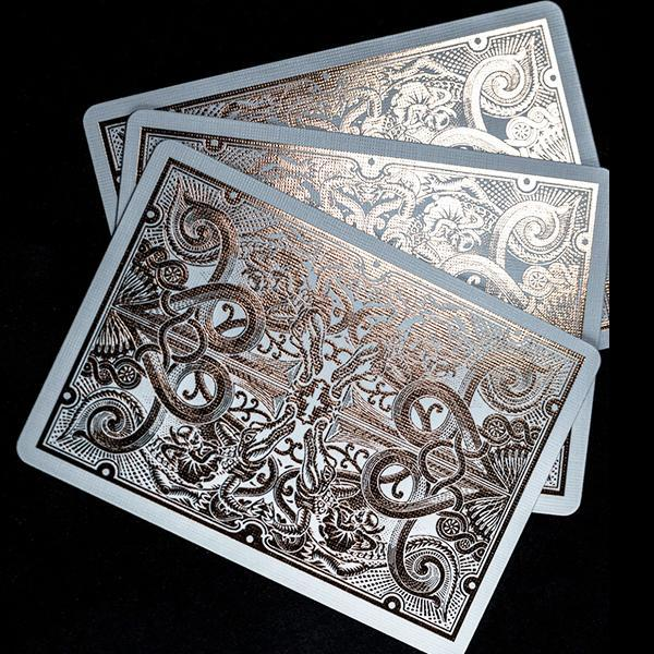 Gatorback Playing Cards - Rose Gold - 52 Wonders Playing Cards Spielkarten Bicycle Fontaine Anyone Orbit Butterfly