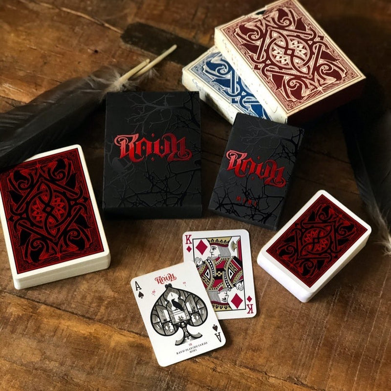 RAVN IIII Playing Cards - 52 Wonders Playing Cards Spielkarten Bicycle Fontaine Anyone Orbit Butterfly