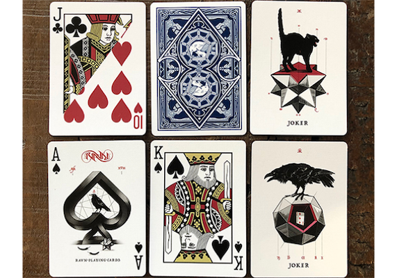 Ravn Playing Cards - Mani - 52 Wonders Playing Cards Spielkarten Bicycle Fontaine Anyone Orbit Butterfly