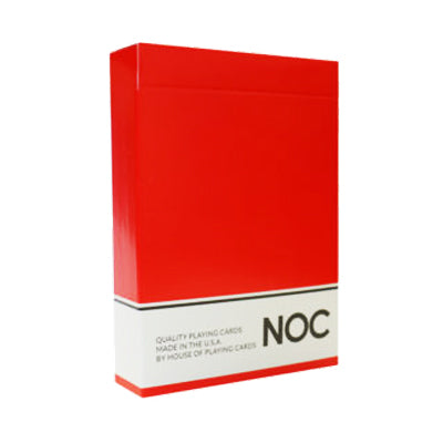 NOC Playing Cards - Original Series - Red