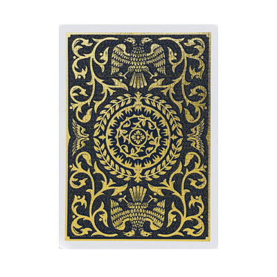 Regalia Playing Cards - Black - 52 Wonders Playing Cards Spielkarten Bicycle Fontaine Anyone Orbit Butterfly