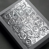 Gatorback Playing Cards - Silver