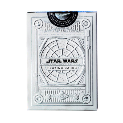 Star Wars Playing Cards - Silver - 52 Wonders Playing Cards Spielkarten Bicycle Fontaine Anyone Orbit Butterfly