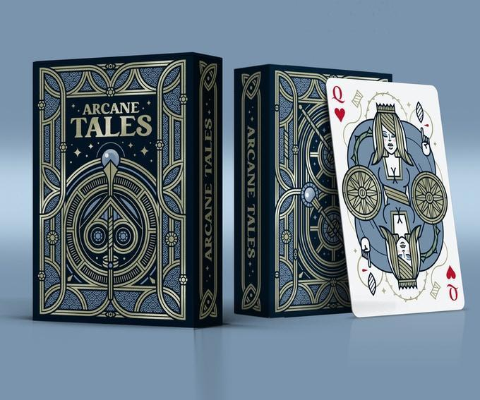 Tales Arcane Playing Cards - 52 Wonders Playing Cards Spielkarten Bicycle Fontaine Anyone Orbit Butterfly