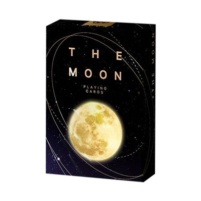 The Moon Playing Cards - 52 Wonders Playing Cards Spielkarten Bicycle Fontaine Anyone Orbit Butterfly